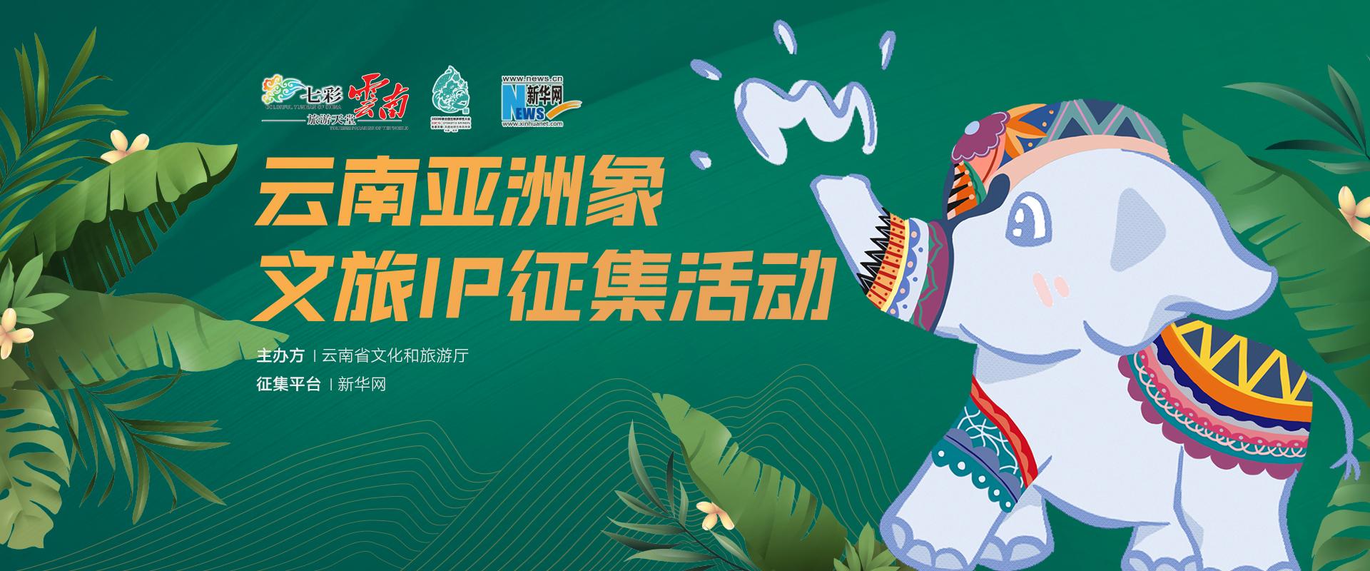 雲南亞洲象(xiang)文旅IP征集活動